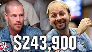 $243,900! Daniel Negreanu Hopes Antonius Doesn
