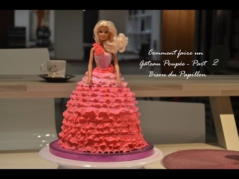 Comment Faire un Gateau Princesse Part. 2