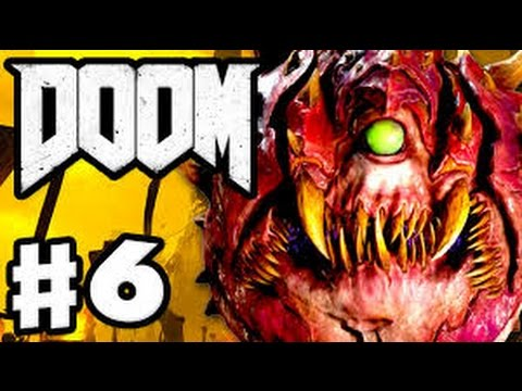 Let's Play DOOM 4 Part 6: Into The Fire