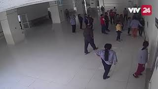 Bắc Kạn: Vợ than tê tay, chồng đánh bác sĩ  - Tin Tức VTV24