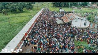 Citizens Stopped The Train To See Diamond Platnumz - NGURUKA STATION