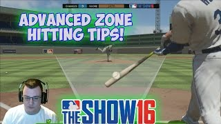 Advanced Zone Hitting Tips! | MLB The Show 16 [Zone Hitting Tips with NO PCI]
