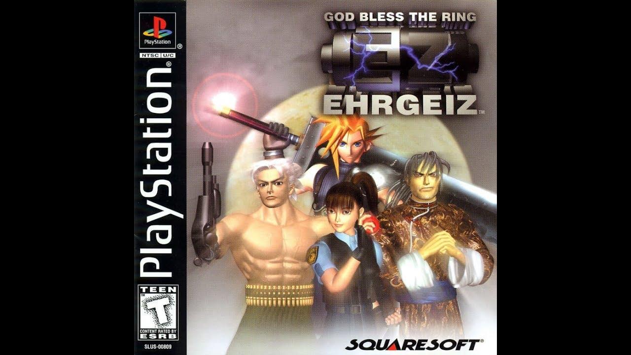 Ehrgeiz God Bless the Ring PSX   Godhand 20p/20fps