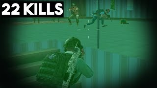 THEY DID NOT SEE ME! | 22 KILLS SOLO vs SQUADS | PUBG Mobile 🐼