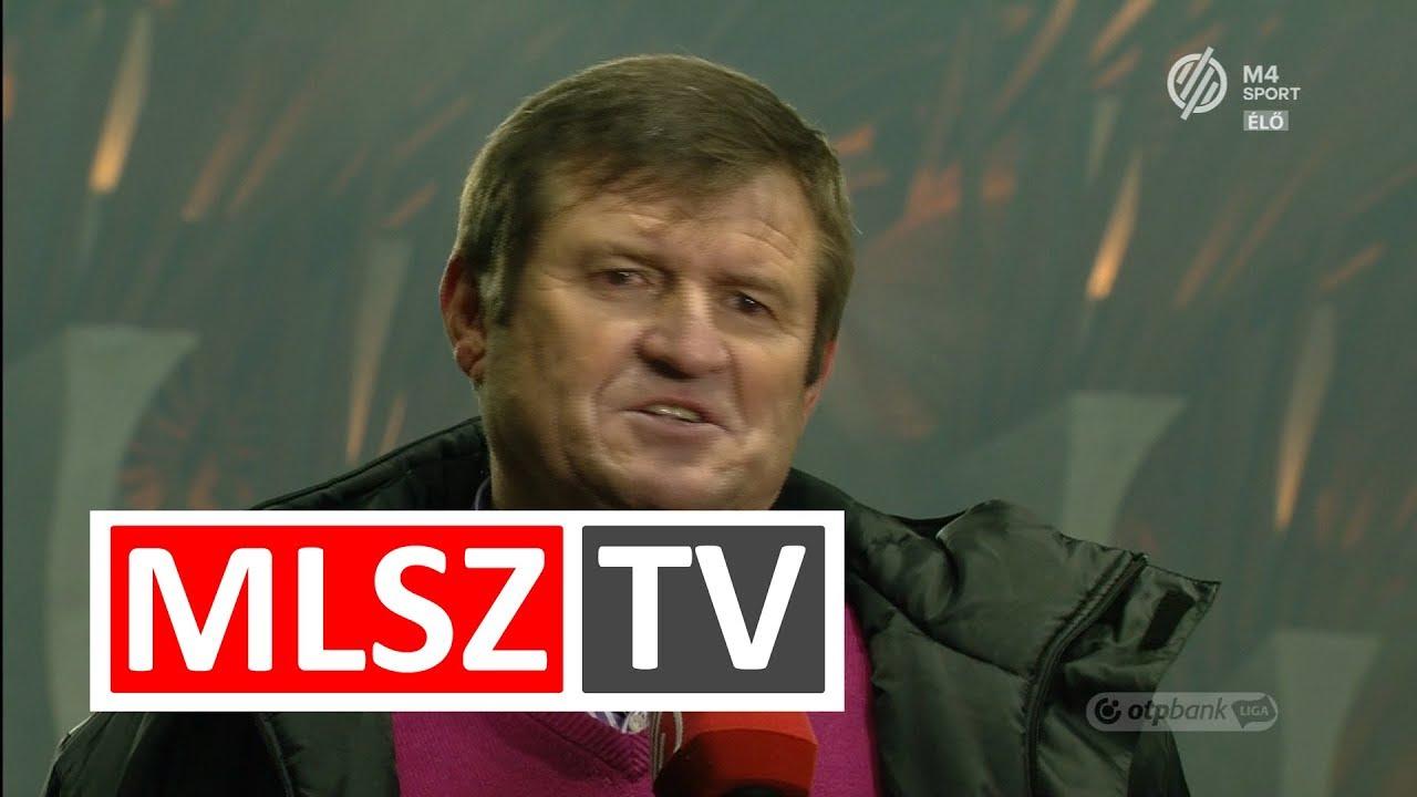 Edzői értékelésv a  Puskás Akadémia FC - Swietelsky Haladás mérkőzésen