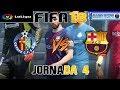 FIFA 18 Liga Santander 2017 18 Jornada 4 Getafe CF VS FC Barcelona mp3