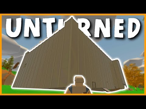 HUGE ABUSIVE ADMIN COMPOUND BASE RAID! 500+ SENTRIES! (Unturned Base Raid) Part #1