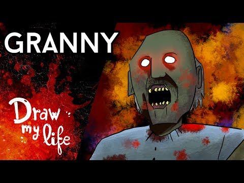 GRANNY: el juego al que pocos SE ATREVEN A JUGAR - Draw My Life