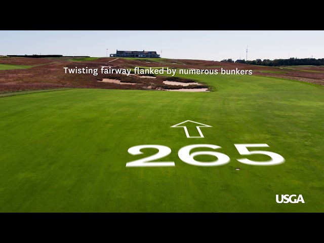 2018 U.S. Open: Shinnecock Hills, Hole No. 16  - Buy American