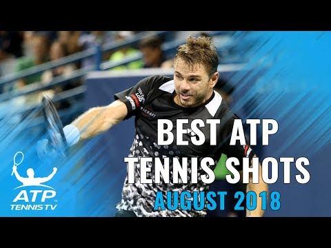 Top 20 Best ATP Tennis Shots from August 2018!