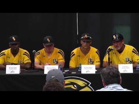 Southern Miss Baseball - postgame press conference vs South Alabama - 06.04.17