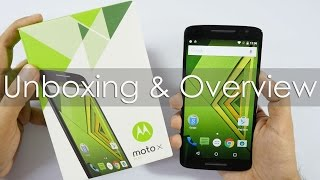 Moto X Play Unboxing & Hands On Overview