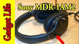 2018 top wired headphone - Sony MDR 1AM2 - Gadget Life