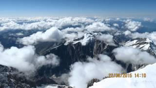 Mont Blanc summit ascent ,aug.2015