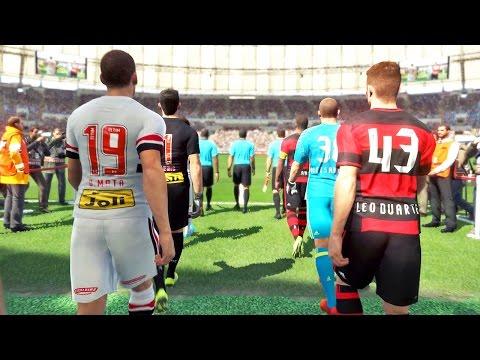 São Paulo Vs Flamengo: Pro Evolution Soccer 2017 (PES 2017)