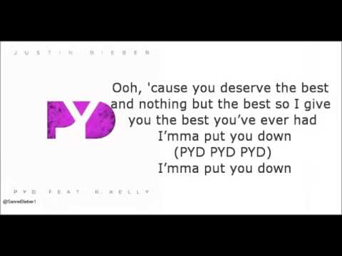 Justin Bieber Ft  Kelly PYD Lyrics video