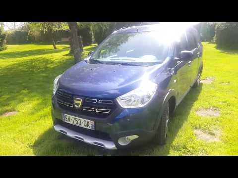 Présentation Dacia Lodgy Stepway Advance 2018