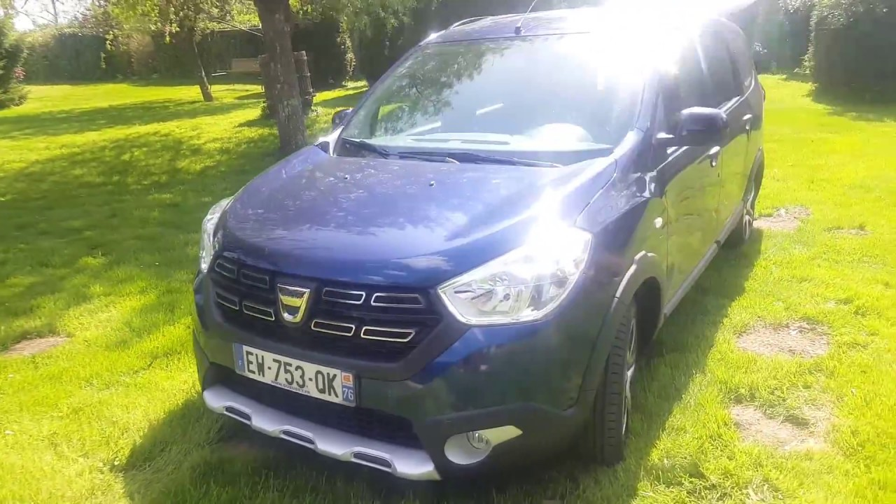 Présentation Dacia Lodgy Stepway Advance 2018