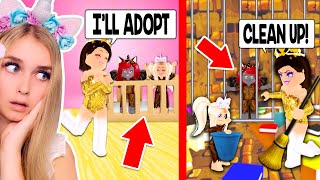 RICH Parents ONLY Wanted To ADOPT POOR KIDS So We Went Undercover In Adopt Me.. (Roblox)
