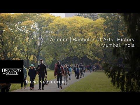 Armeen, Bachelor of Arts, History