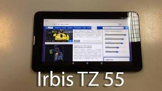 Irbis TZ 55.Обзор. Бюджетный планшет.