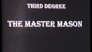 FREEMASONRY SIGNS & SIGNALS 1st to 3rd Degree Master Mason