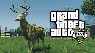 GTA 5 - HOW TO PLAY AS ANIMALS! Play As A COW, PIG, DOG, RABBIT in GTA 5! (Peyote Plant Location)