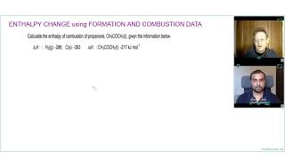 HOW TO CALCULATE ENTHALPY CHANGE using COMBUSTION AND FORMATION DATA | A Level Chemistry Tutor