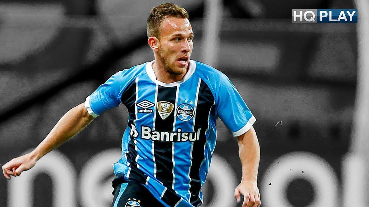Arthur Complete Midfielder Grêmio 2017 HD 1080p - YouTube