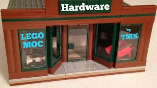 LEGO MOC: Hardware Store for my LEGO City by TMX