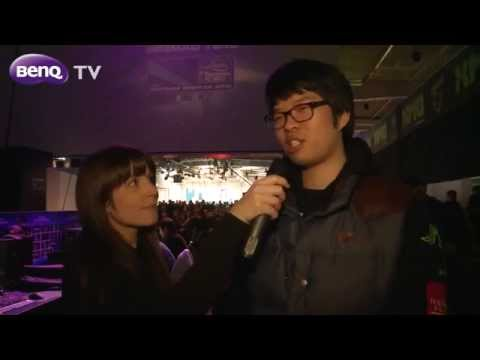 BenQ Gaming Monitor - Interview with Oh 'ReaL' Jin Shil at IEM World Championship CeBIT 2012