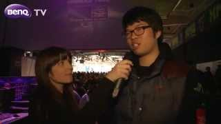 Video BenQ Gaming Monitor - Interview with Oh 'ReaL' Jin Shil at IEM World Championship CeBIT 2012 download MP3, 3GP, MP4, WEBM, AVI, FLV Agustus 2017
