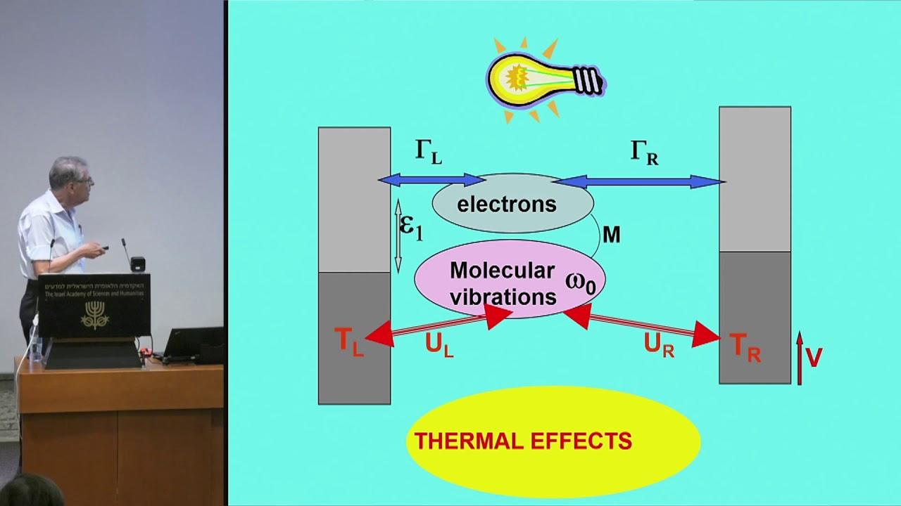 Download Chemical Sciences   D4S8 19/35 Molecular electronics and plasmonics: Electrons,... - Abraham Nitzan