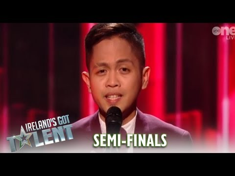 Rodelle Borja: The Irish Stand-Up For INCREDIBLE SHY Filipino Nurse  Ireland&39;s Got Talent 2019