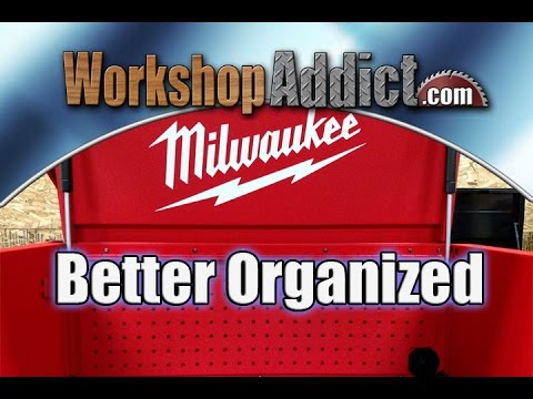 Milwaukee 30 In. 12 Drawer Steel Tool Storage Chest And Rolling Cabinet  48 22 8530   YouTube