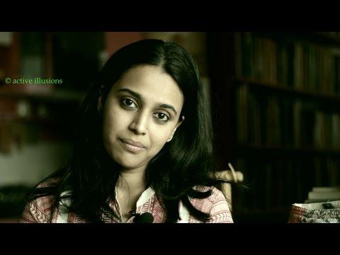 हिंदी कविता : पाश : मैं अब विदा लेता हूँ  : Swara Bhaskar in Hindi Studio with Manish Gupta