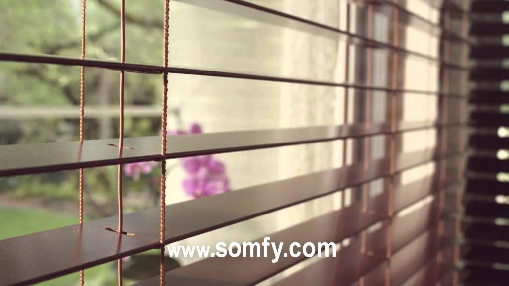 Contrôlez Vos Stores Vénitiens Avec Somfy! - Youtube