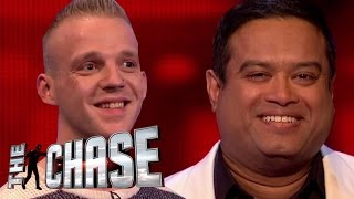 The Chase | The Sinnerman Left In Stitches By Lucky Contestant!