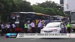 Pemda Terjunkan 7 Armada Bus untuk Balik Gratis