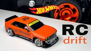 BMW M3 E30 RWD RC Drift Hotwheels Custom