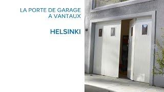 Porte De Garage 4 Vantaux Helsinki Castorama Youtube