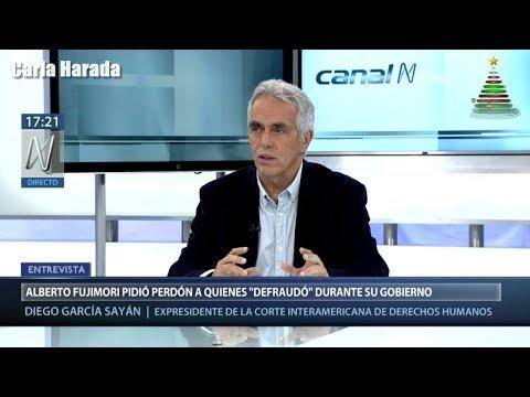 Diego García Sayán dice que derecho de gracia de PPK a Fujimori viola la Constitución