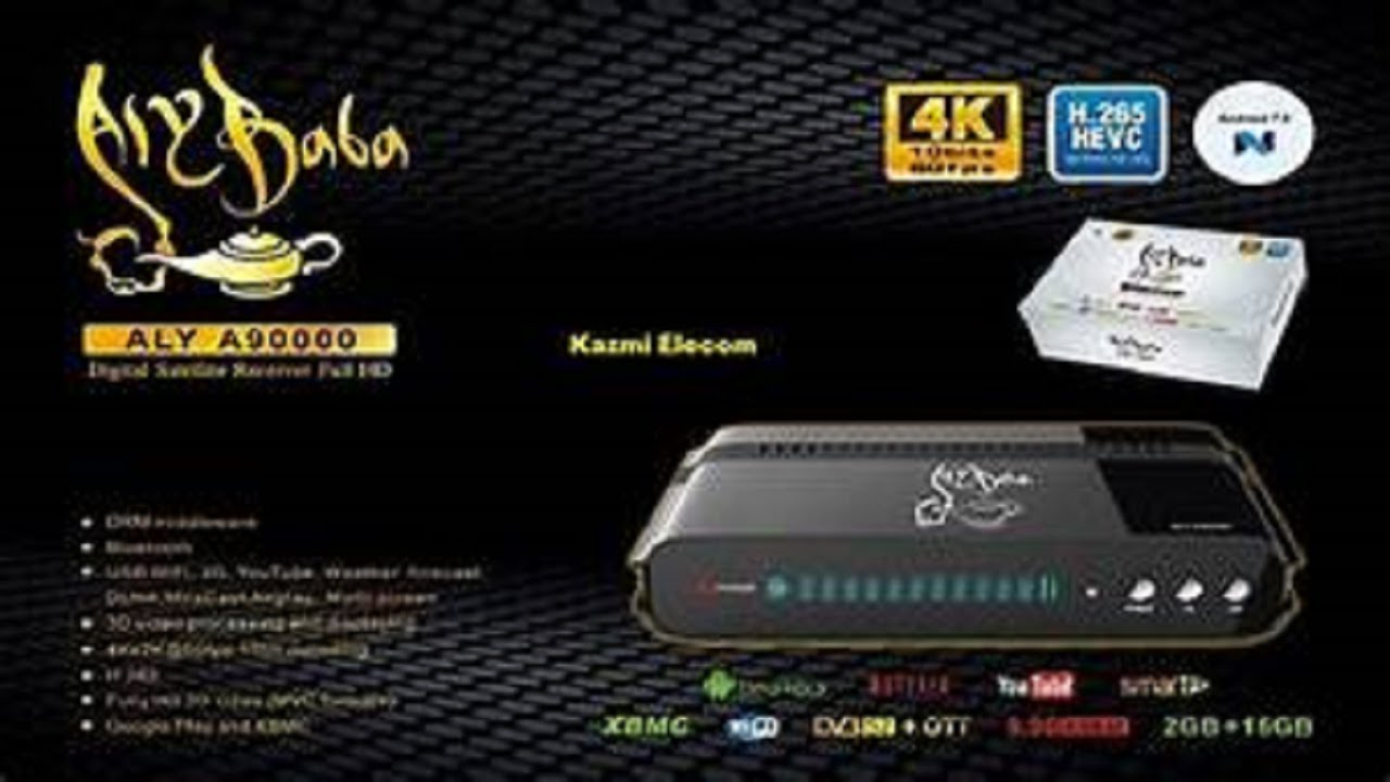 ALYBABA ALY A90000 4K UHD DIGITAL SATELLITE RECEIVER PRICE IN PAKISTAN
