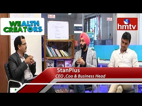 StanPlus CEO, COO and Business Head Exclusive Interview | Wealth Creators | hmtv