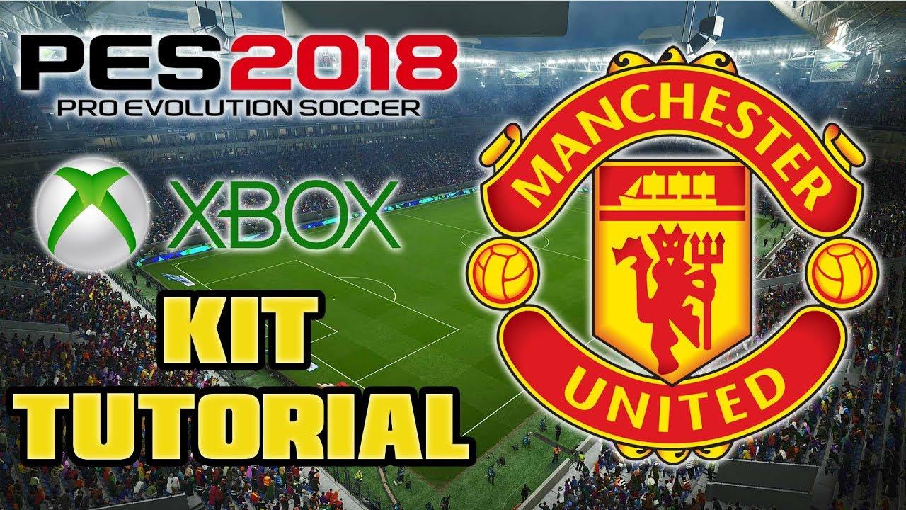 PES 2018 MANCHESTER UNITED F.C. KIT TUTORIAL (XBOX ONE 360) - YouTube 9e809ecc6
