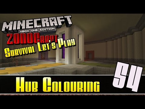 Minecraft Survival Let's Play :: Hub Colouring :: E54 :: Z One N Only