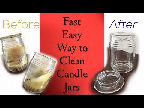 How to Clean Candle Jars Fast: The Easy Way