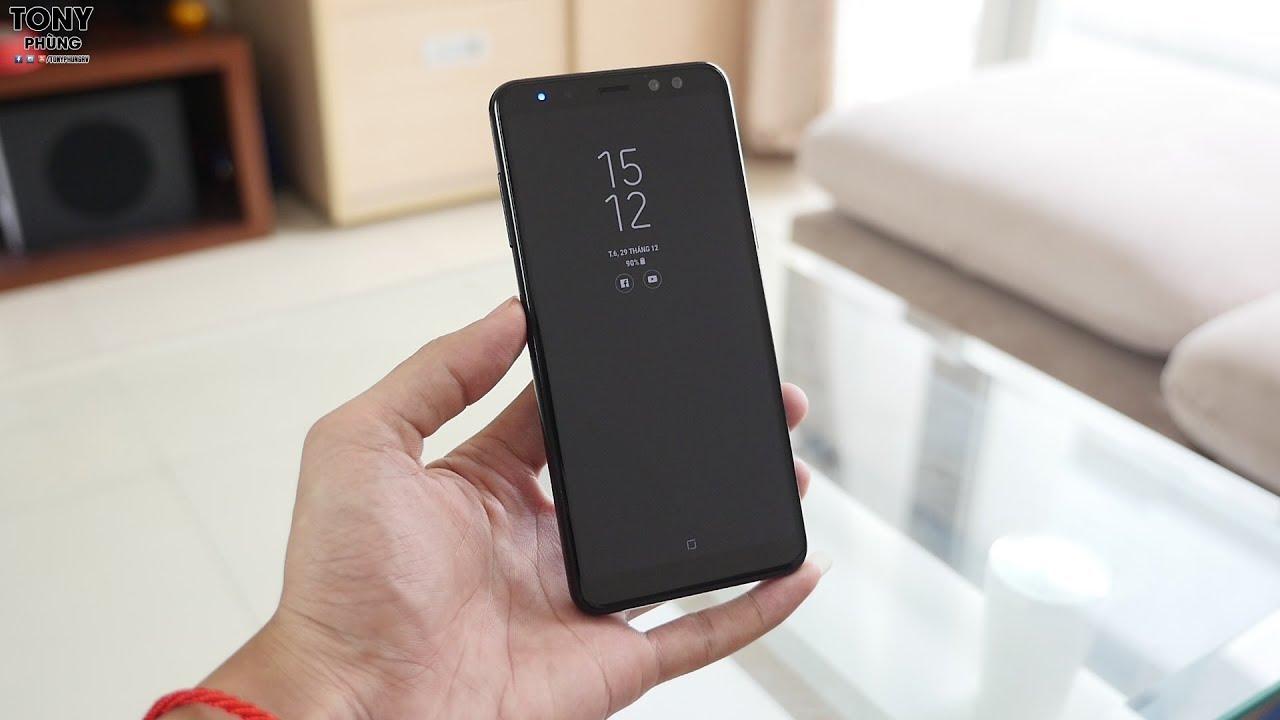 Đây là những trải nghiệm mà Galaxy A8 2018 mang đến cho bạn - Tony Phùng