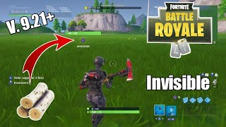 CREATE INVISIBLE CONSTRUCTIONS on Fortnite in CREATIVE