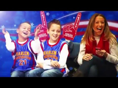 Harlem Globetrotters at the Smoothie King Center in New Orleans